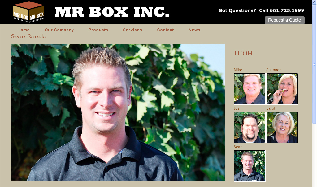 Corporate website by CitySites.com with Tony DeAngelo